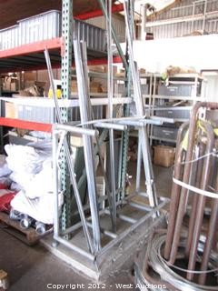 Galvanized Flat Rods and Stand