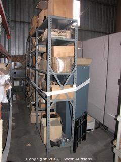 Black Enamel Fence Hardware and Racks