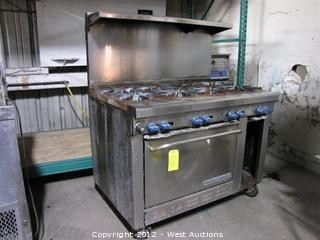 Montague Grizzly Eight Burner Stove and Oven