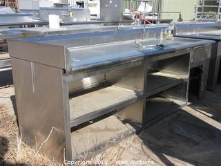 Stainless Table with Sinks and Traps