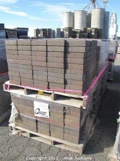 (6) Pallets of Sonoma Blend Carriage Stone Pavers