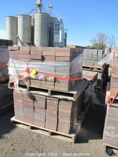(4) Pallets of Sonoma Gold Blend Century Stone Pavers