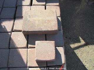 (3) Pallets of Sonoma Gold Blend Cobble Stone Pavers