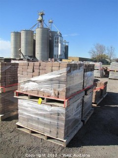 (4) Pallets of Desert Mojave Carriage Stone Pavers