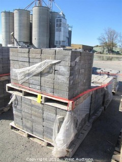 (4) Pallets of Tahoe Blend Century Stone Pavers
