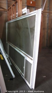 Double Pane Glass Window