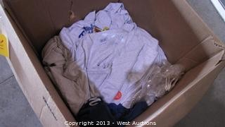 Box of Window World Shirts