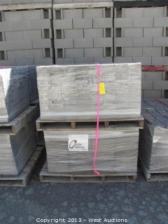 (4) Pallets of Castle Stone Tahoe Blend Pavers