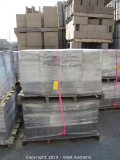 (4) Pallets of Century Stone Monterey Blend Pavers