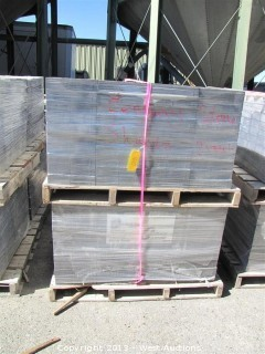 (4) Pallets of Century Stone Shasta Blend Giant Pavers