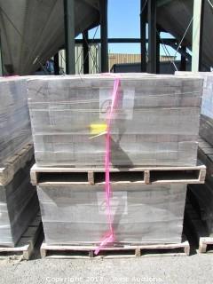 (4) Pallets of Cobble Stone Sonoma Blend Square Pavers