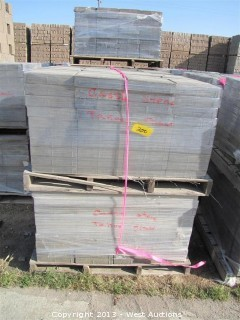(4) Pallets of Castle Stone Tahoe Blend Giant Pavers