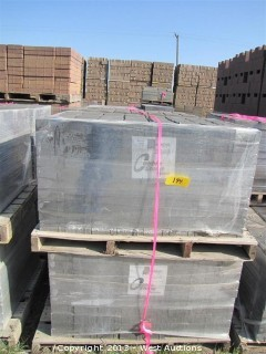 (4) Pallets of Cobble Stone Monterey Blend Square Pavers