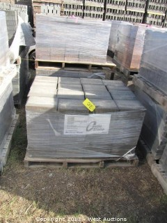 (1) Pallet of Castle Stone Monterey Blend Giant Pavers