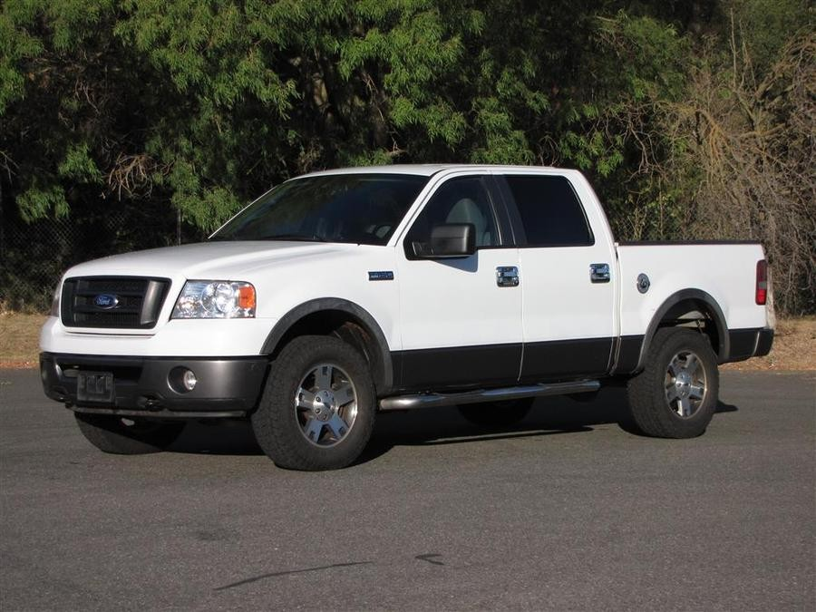 west auctions auction 2008 ford f150 fx4 pickup and. Black Bedroom Furniture Sets. Home Design Ideas