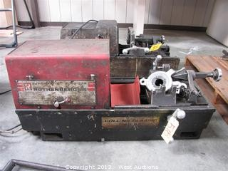 collins pipe threading machine