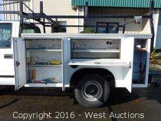2000 Chevrolet 3500 Utility Bed Truck