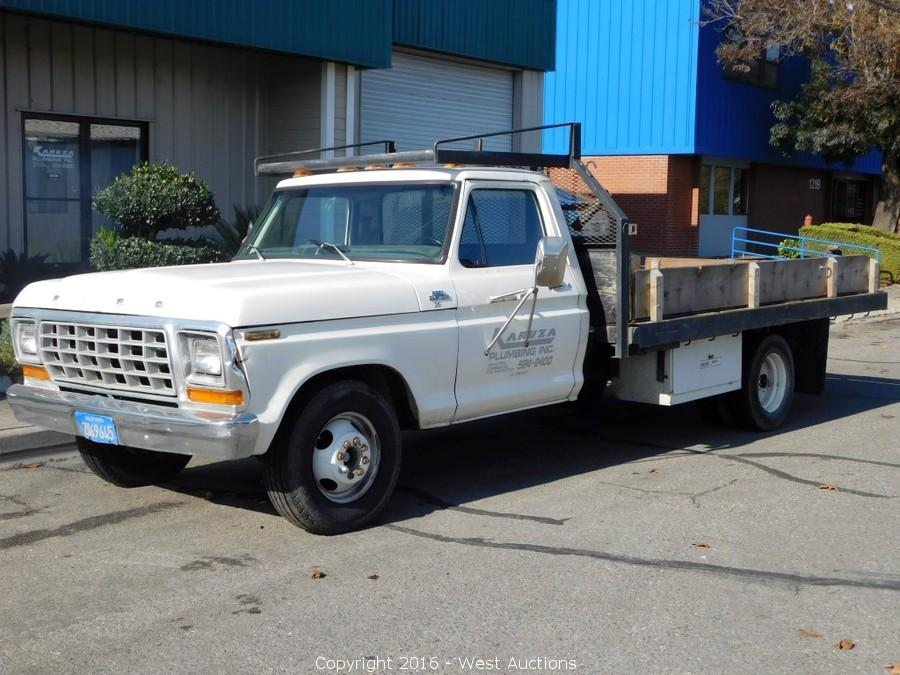 Bankruptcy Auction of Work Trucks and Trailers