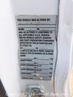 2014 Chevrolet Express Van with Interior Utility Racks