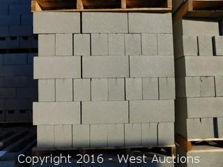 (1) Pallet of 6x8x16 Standard Light Weight Grey Precision