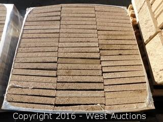(1) Pallet of  2x8x16 Split Face One-Sided #345 Tan Face Shell/Veneer