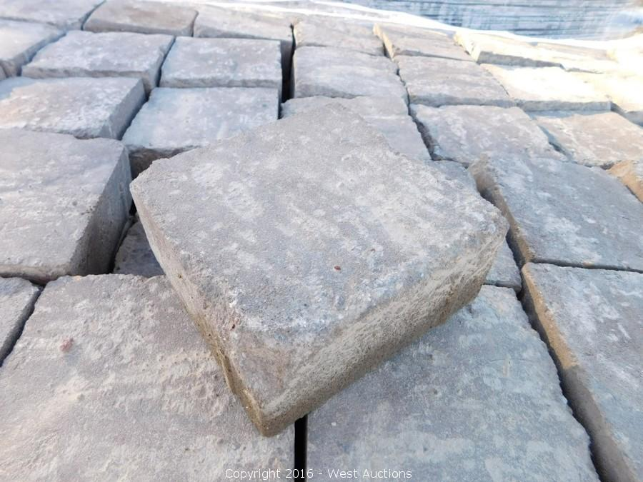 Auction #1: Stone Pavers, Concrete Blocks, and Retaining Walls