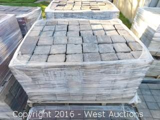 (1) Pallet of  Century Square Pavers - Tahoe Blend