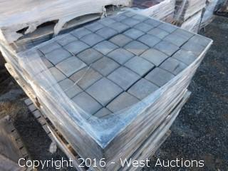 (1) Pallet of  Cobble Square Pavers - Diablo Canyon Blend