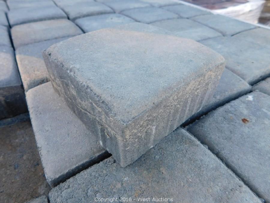 Auction #1: Stone Pavers, Concrete Blocks, and Retaining Walls