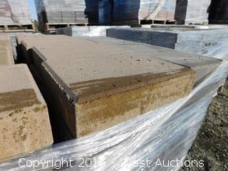 (1) Pallet of  Castle Stone - Giant - Monterey Blend