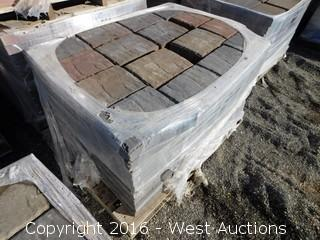 (1) Pallet of  Carriage Stone - Giant - Sonoma Blend