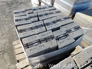 (1) Pallet of  Maytrx Retaining Wall Block - Mojave Blend