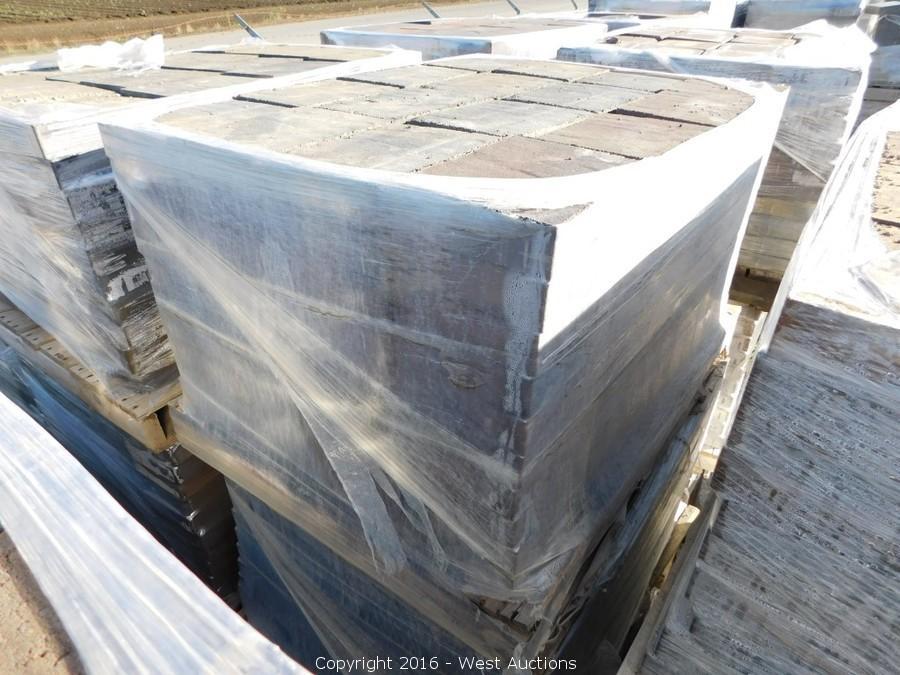 Auction #2: Stone Pavers, Concrete Blocks, and Retaining Walls