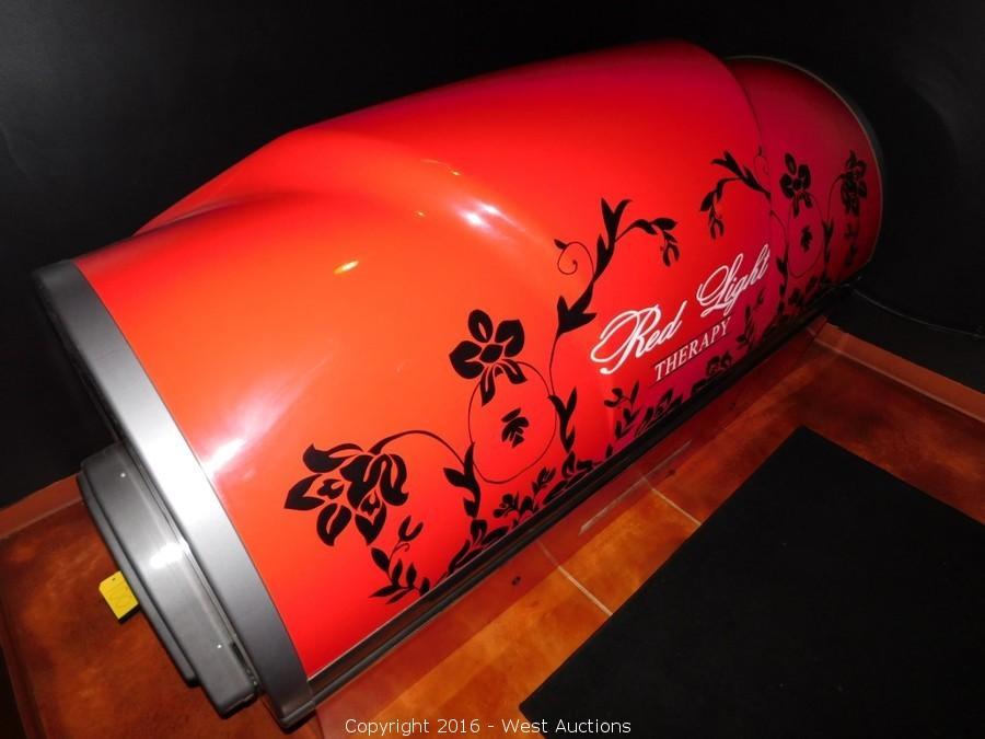 west auctions auction tanning salon liquidation item. Black Bedroom Furniture Sets. Home Design Ideas