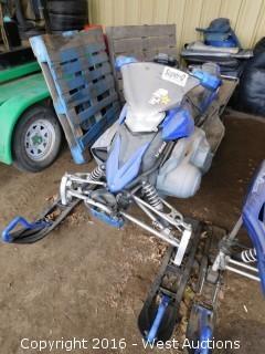 2008 Yamaha Phazer MTX Snowmobile