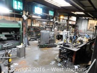 Bulk Bankruptcy Sale of Steve Zappetini & Son, Inc Steel Fabrication Shop