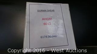 2000 Durma AHGM 6012 20' Hydraulic Computer Controlled Shear