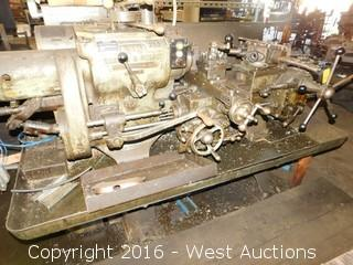 Warner and Swasey No. 3 M-1200 Turret Lathe