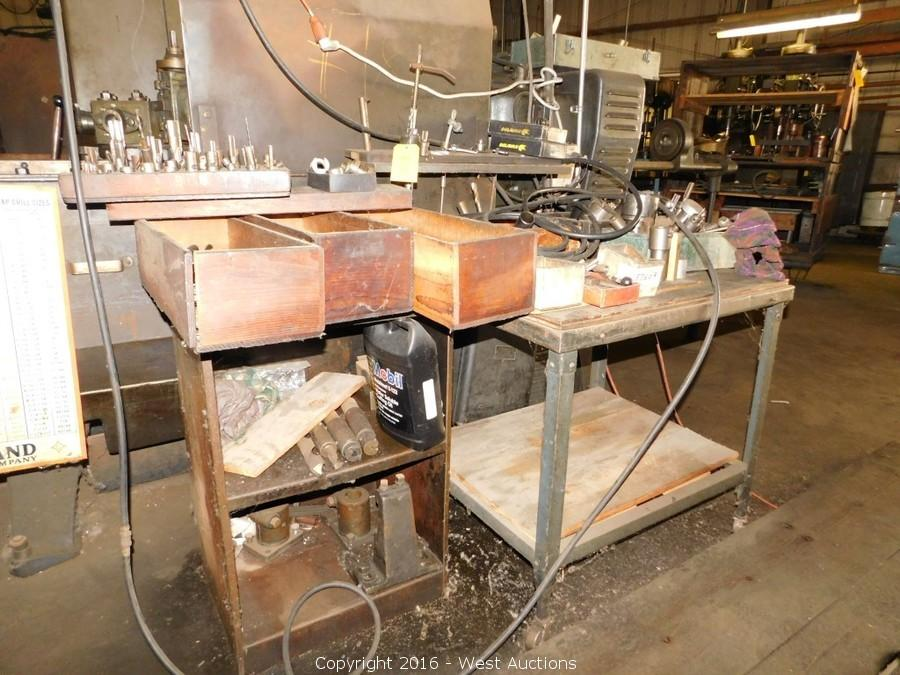 Equipment, Tools and Hardware from Machine Shop