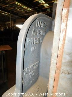 Dake No. 1 Arbor Press