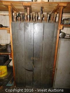 Wood Storage Unit with Tooling and More