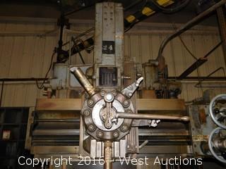 "Bullard 30"" CutMaster Vertical Turret Lathe and Overhead Hoist"