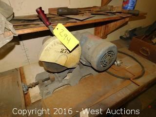 Everett Abrasive Cutoff Saw