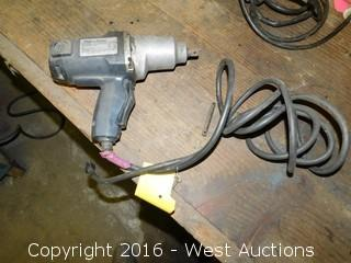 "Black and Decker 1/2"" Electric Impact Wrench"