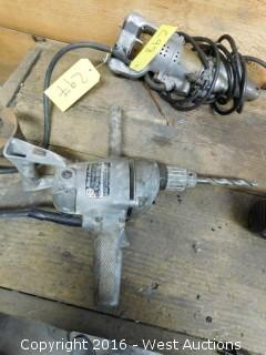 "Black and Decker 1/2"" Heavy Duty Drill"