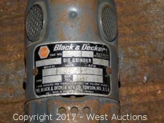 Black and Decker Die Grinder