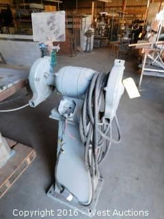 Setco Industries Pedestal Grinder
