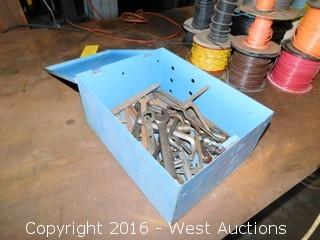 Box with Wrenches, Screwdrivers and Hand Files