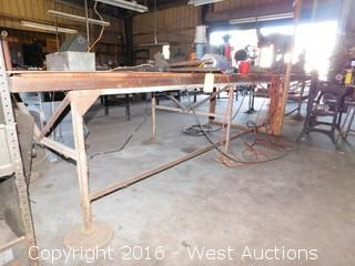 Steel Work Bench (bench only)