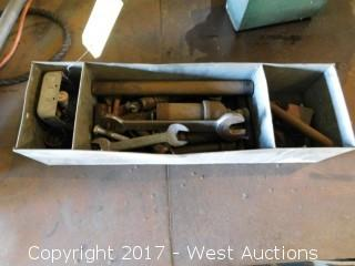 Box with Hand Tools